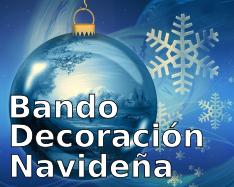 Bando decoración navideña 2019