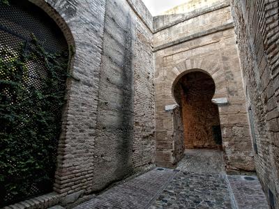 Imagen de la puerta de acceso al Alcazar