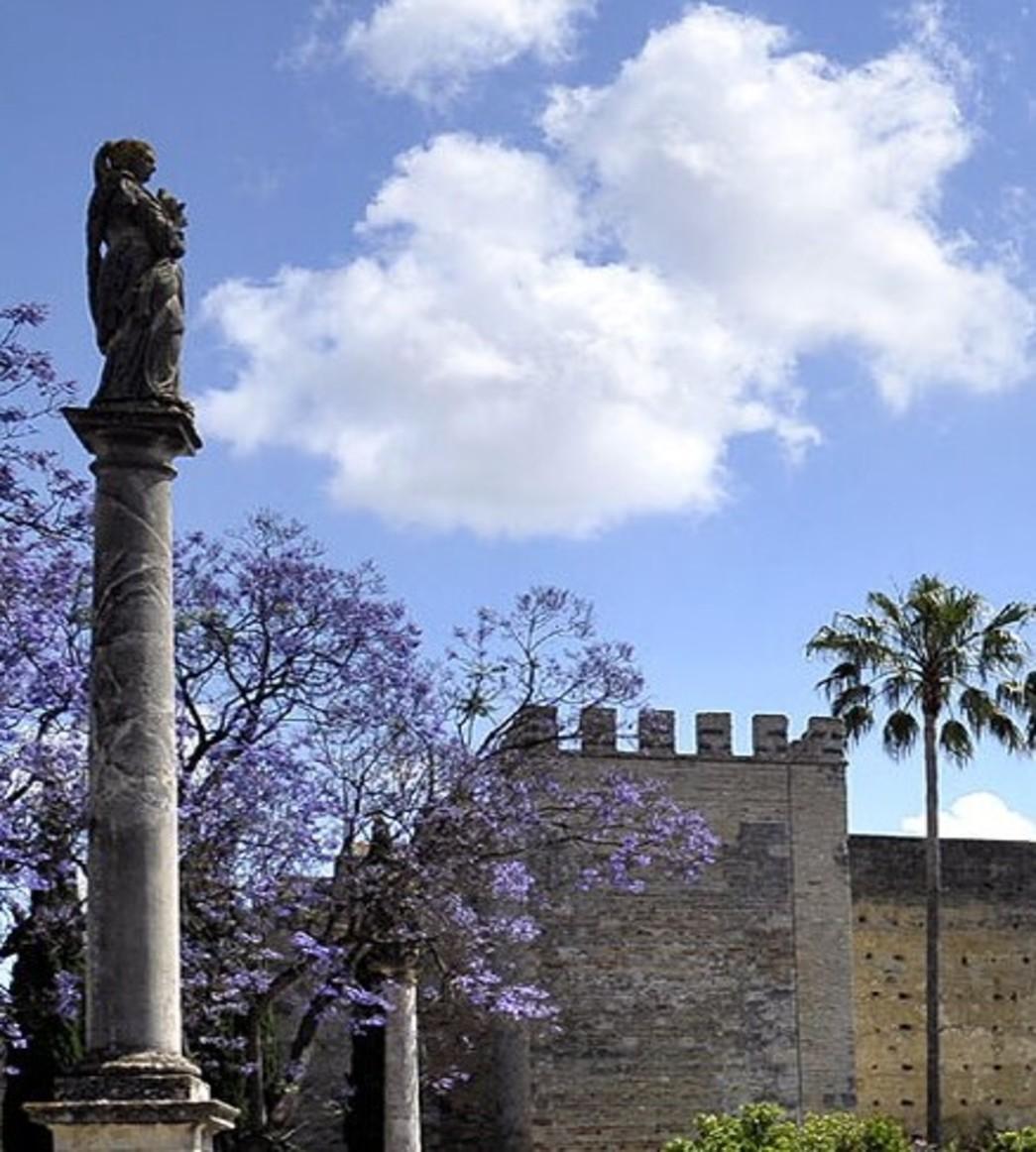 Muro Alcázar desde la Alameda