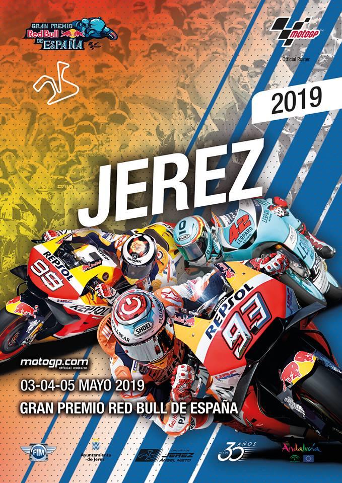 Cartel Campeonato del Mundo MotoGP 2019
