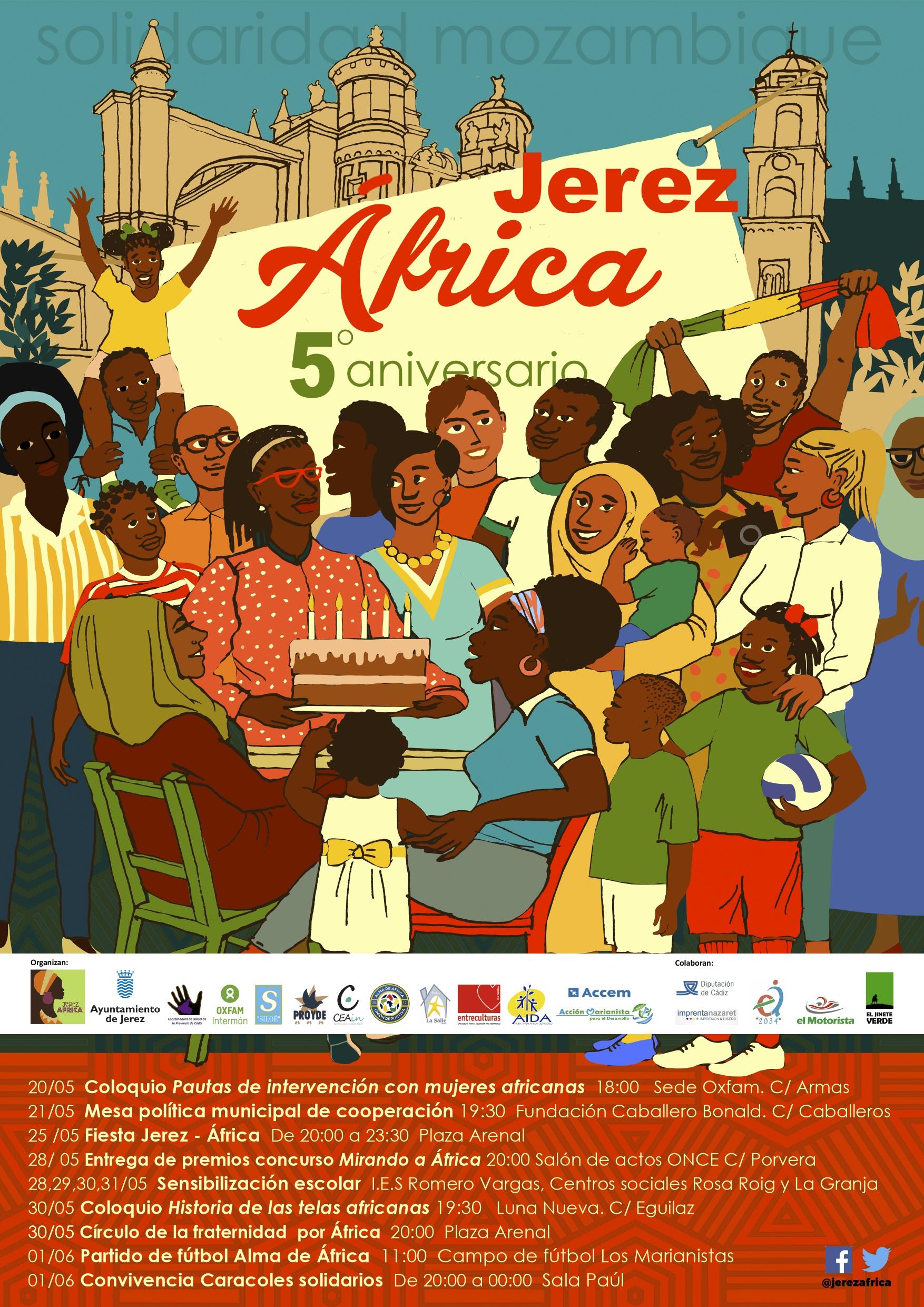 Cartel jerez-África 2019