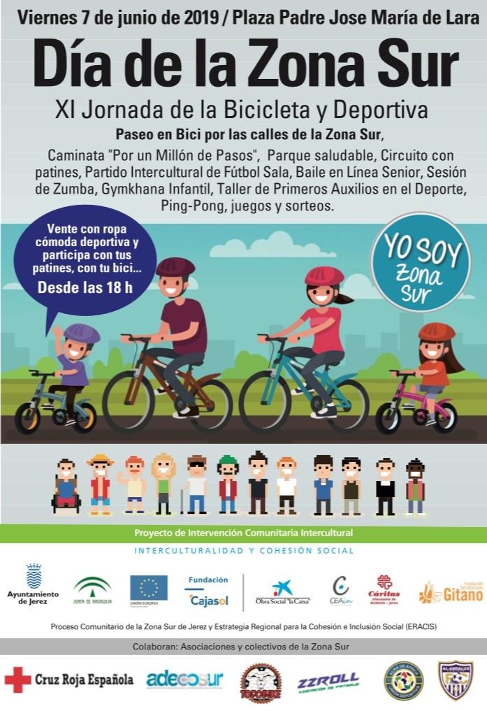 Cartel Día Zona Sur 2019