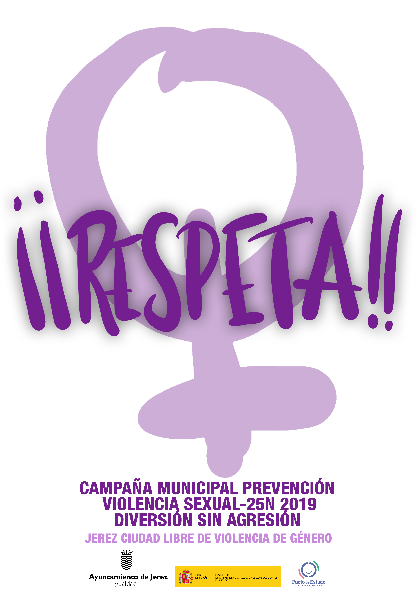 Cartel Campaña Municipal Prevención Violencia Sexual 25N 2019