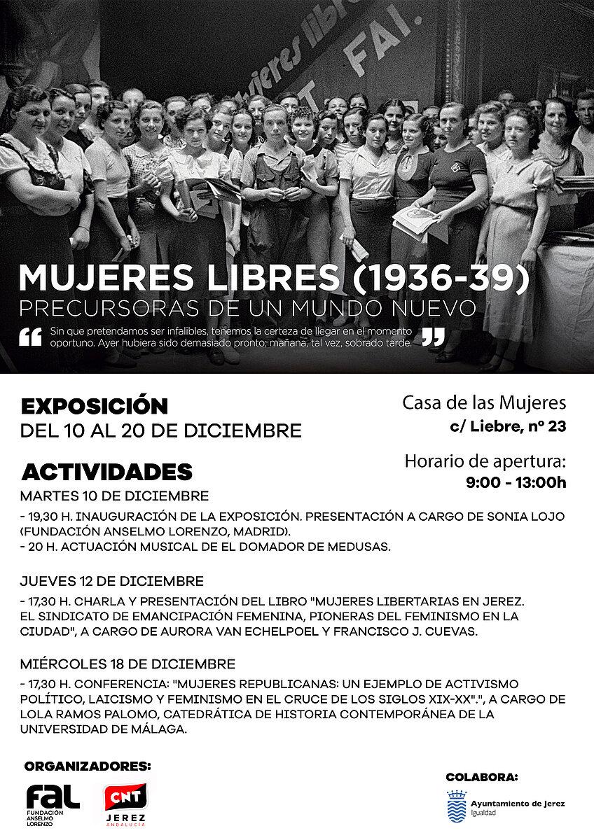 Cartel Exposición Mujeres Libres (1936-39)