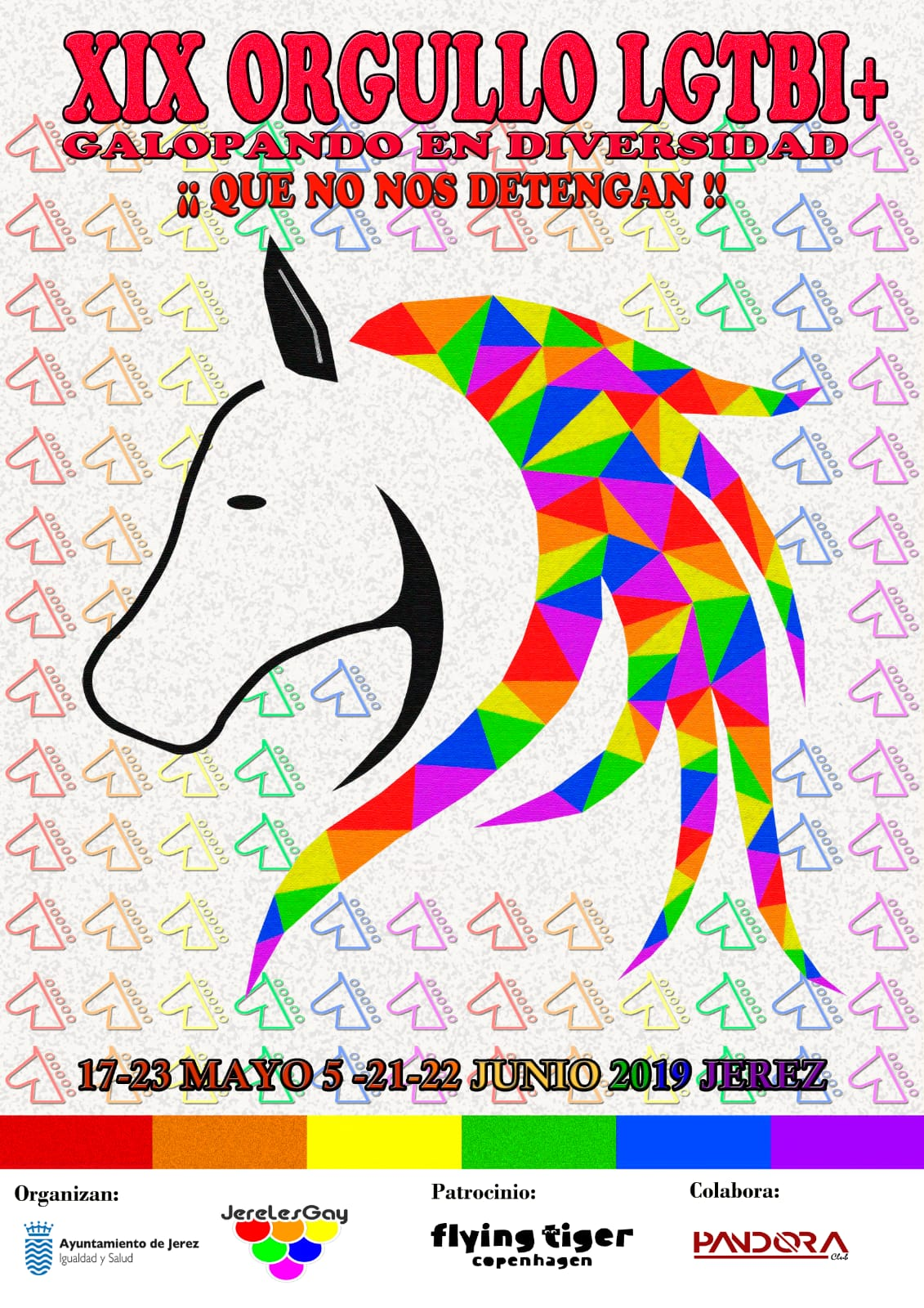 Cartel Orgullo LGTBI+ 2019