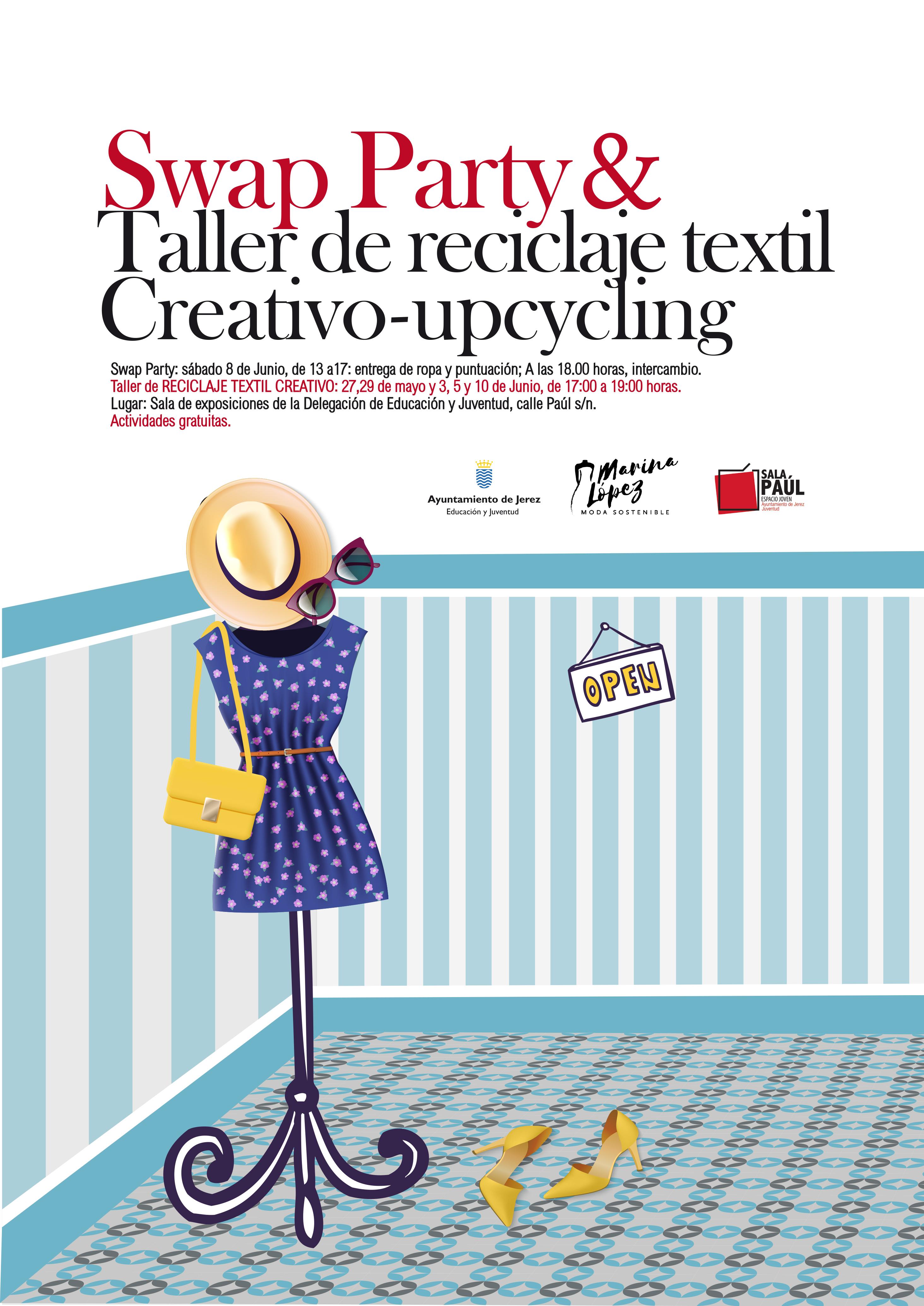 Swap Party y Taller Reciclaje Textil