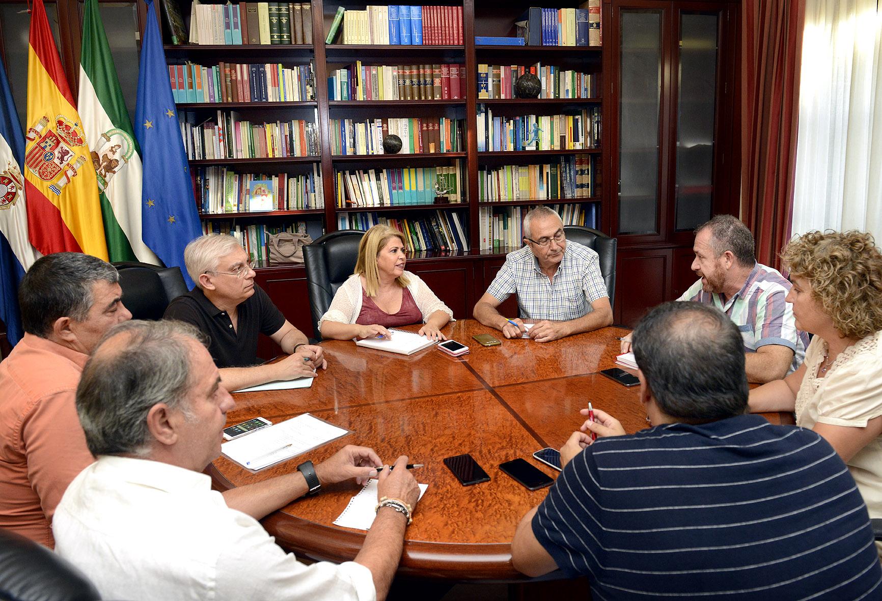 Reunión alcaldesa UGT