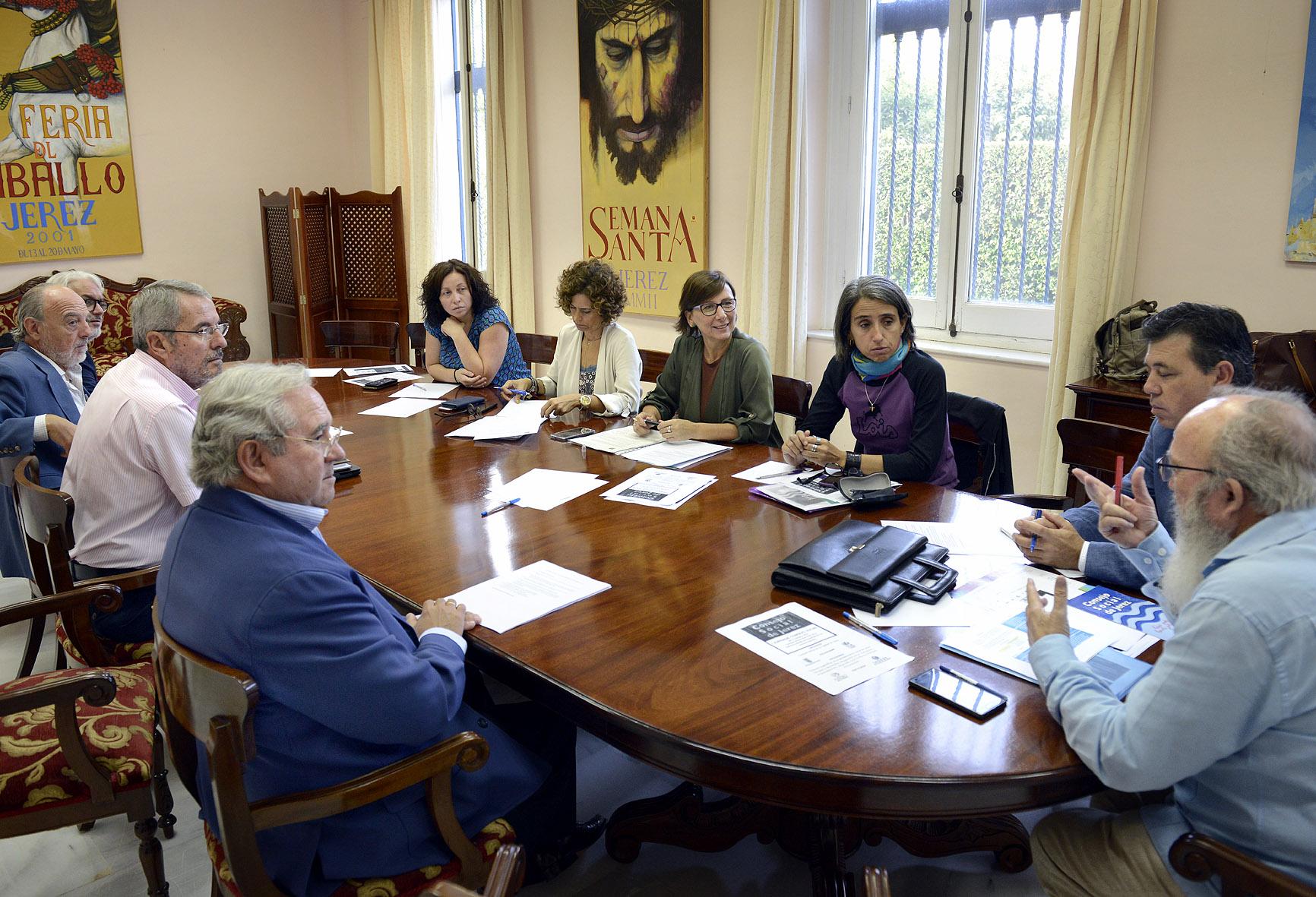 Reunión del Consejo Social