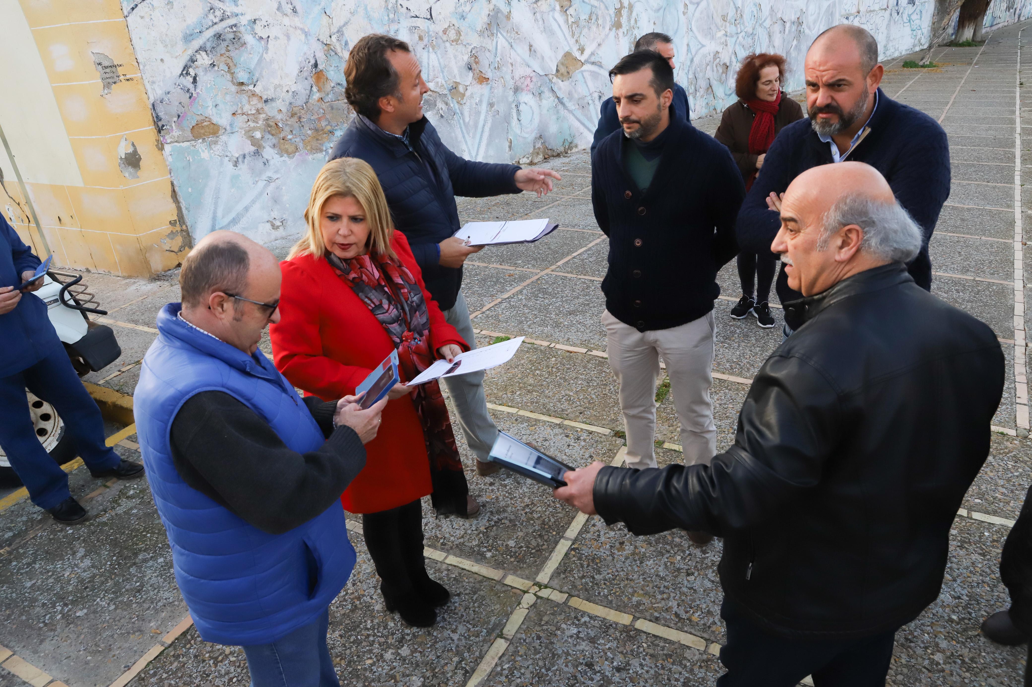 Alcaldesa ejecución calle Menorca