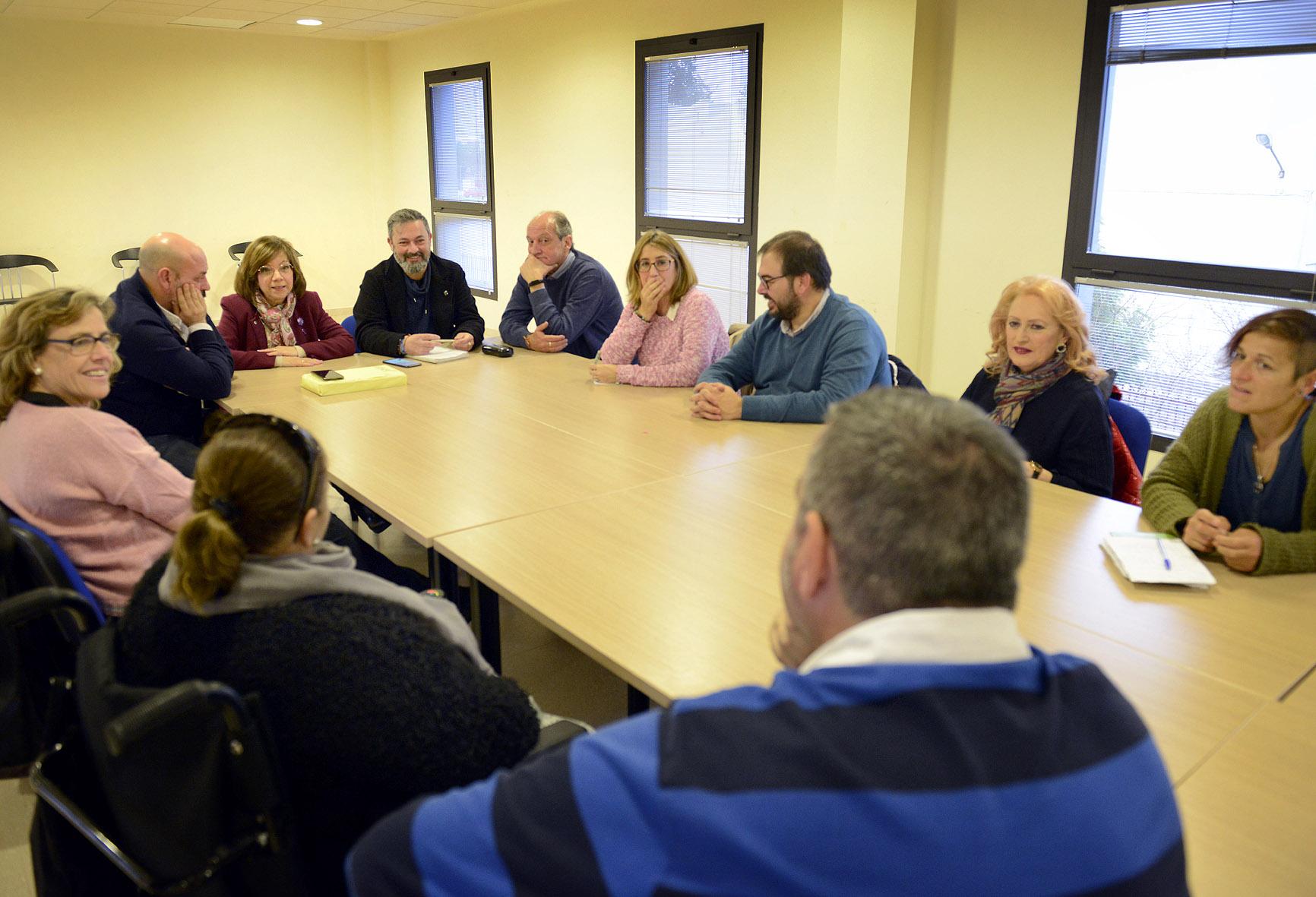 Cabalgata con asociaciones discapacidad