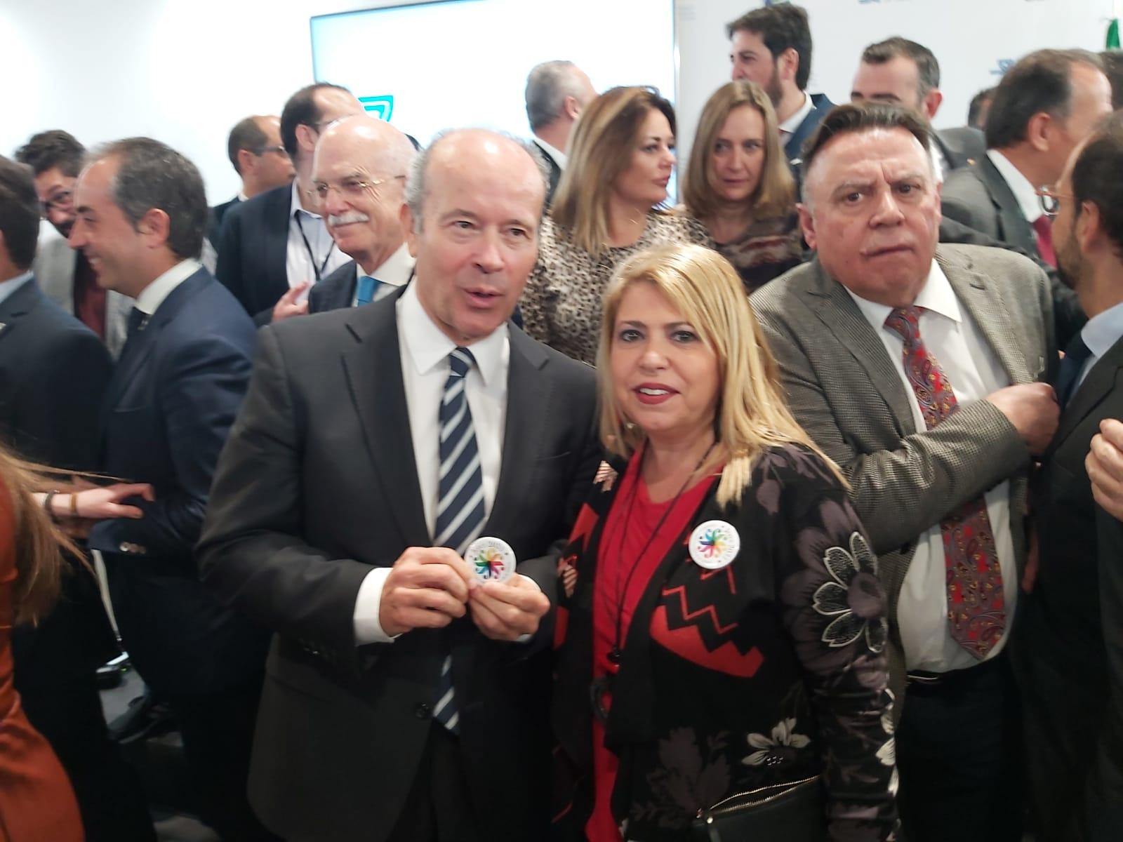 La alcaldesa en Fitur