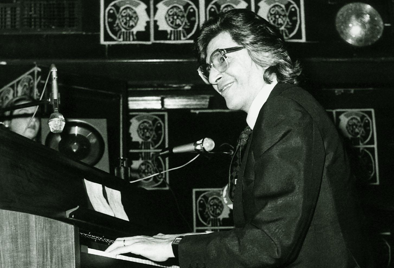 Fotografía de archivo del compositor
