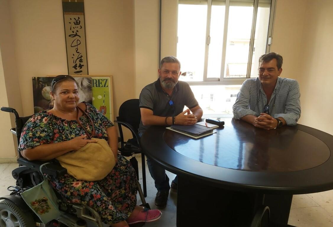 Rubén Pérez con Adifi. Archivo