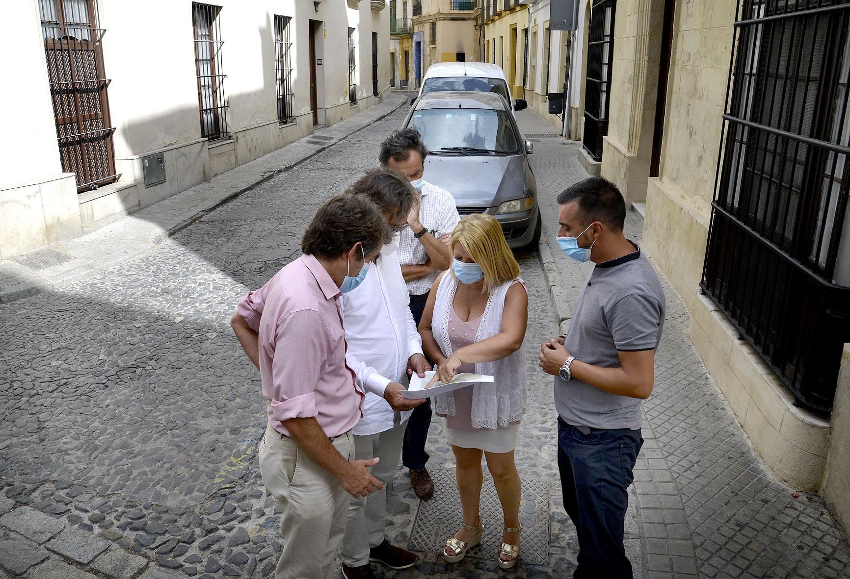 Alcaldesa calles Carmen y Chapinería