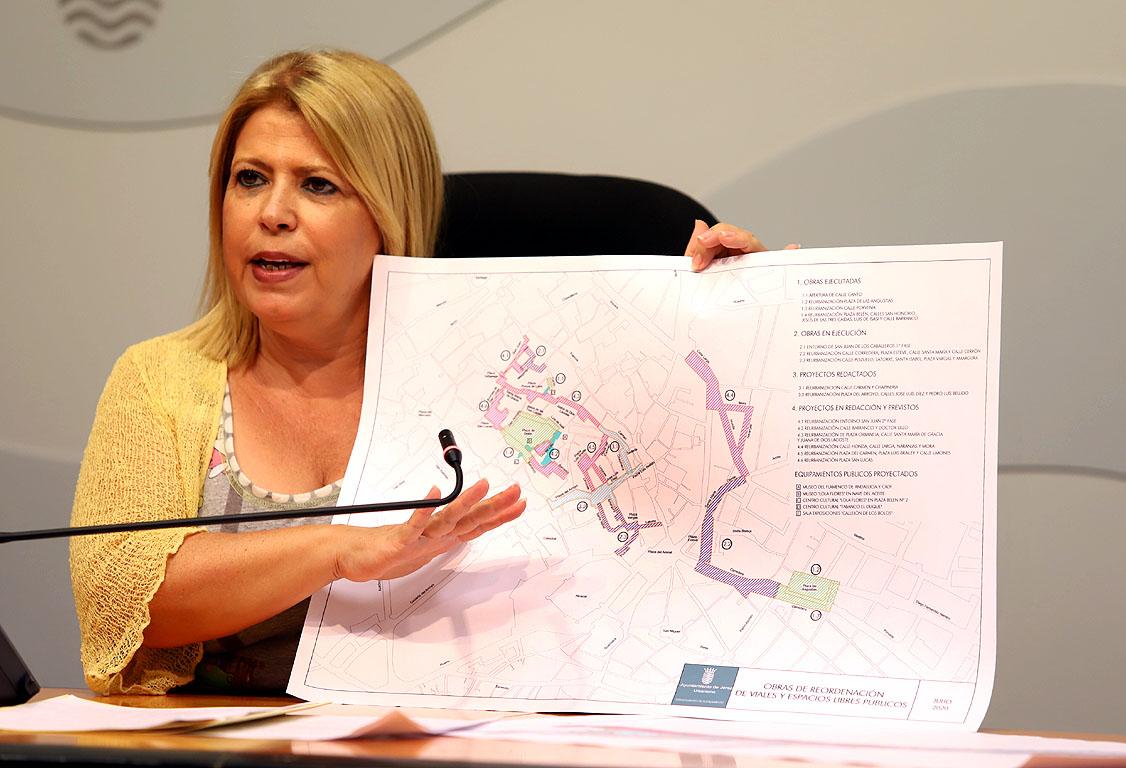 Alcaldesa-Proyectos Objetivos 2030