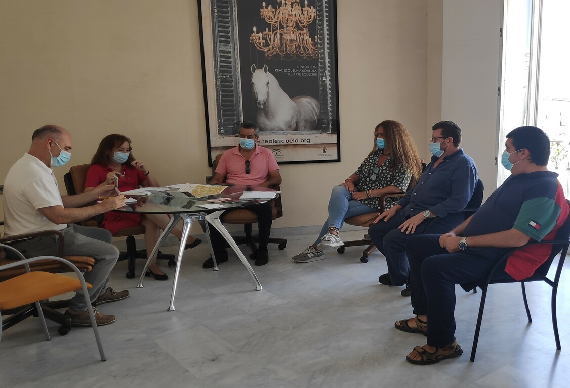 Gallardo reunión tabancos de Jerez
