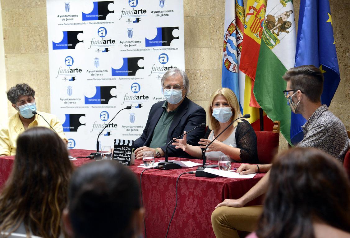 Alcaldesa Flamenco en azoteas de Jerez
