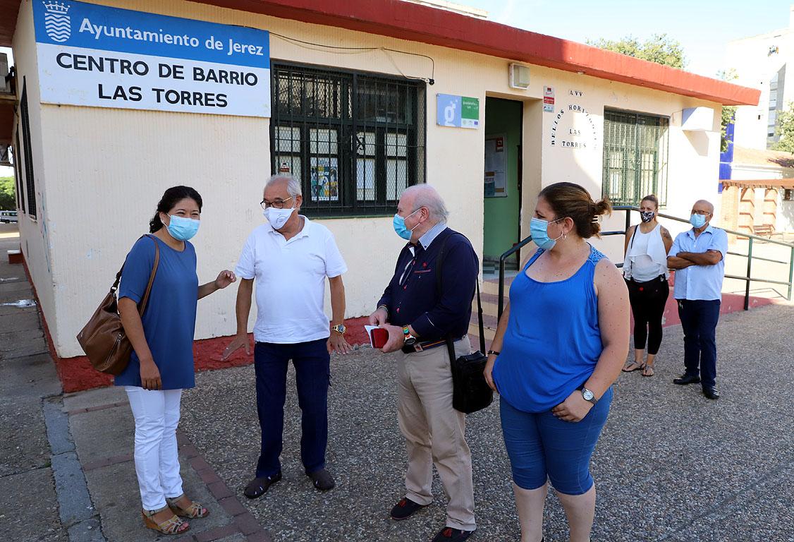 Hérica Ramos con AV Las Torres