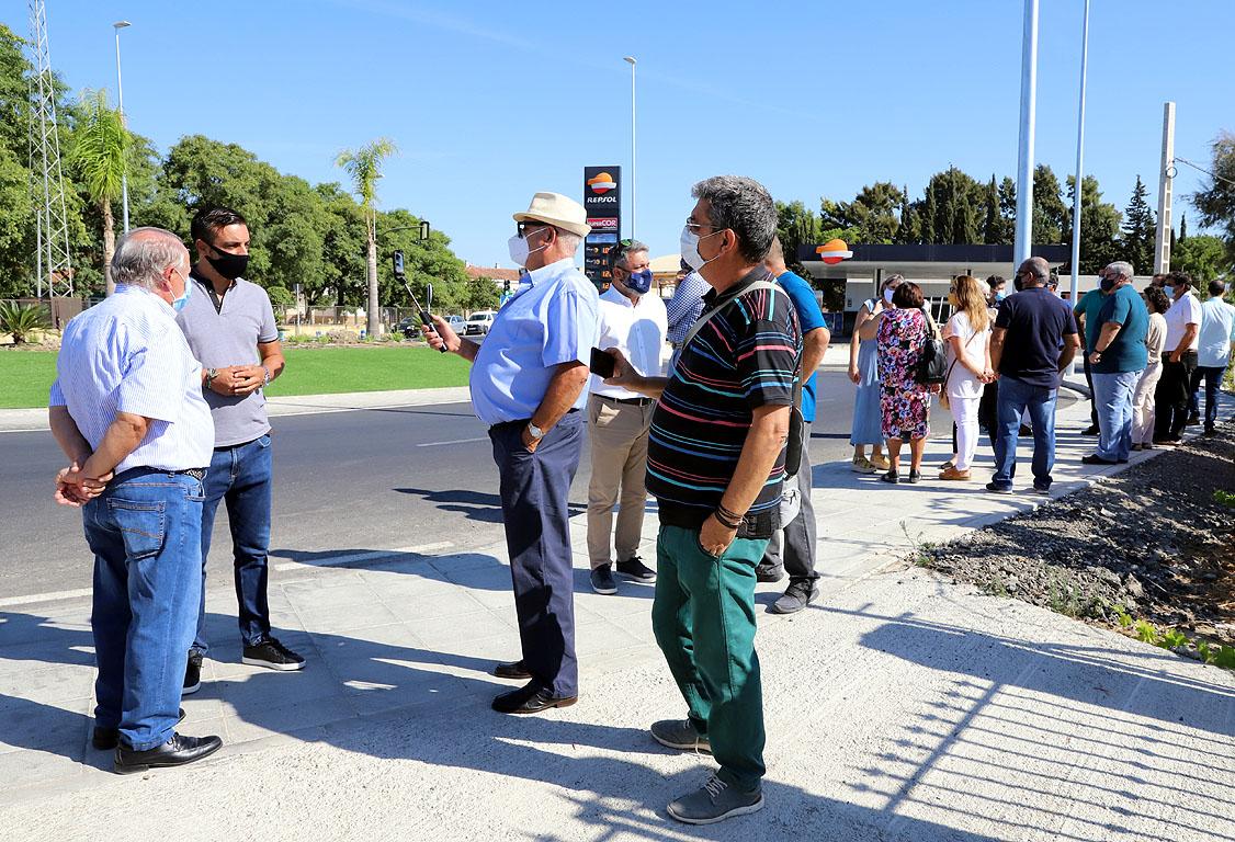 Inauguración Rotonda Guadalcacín