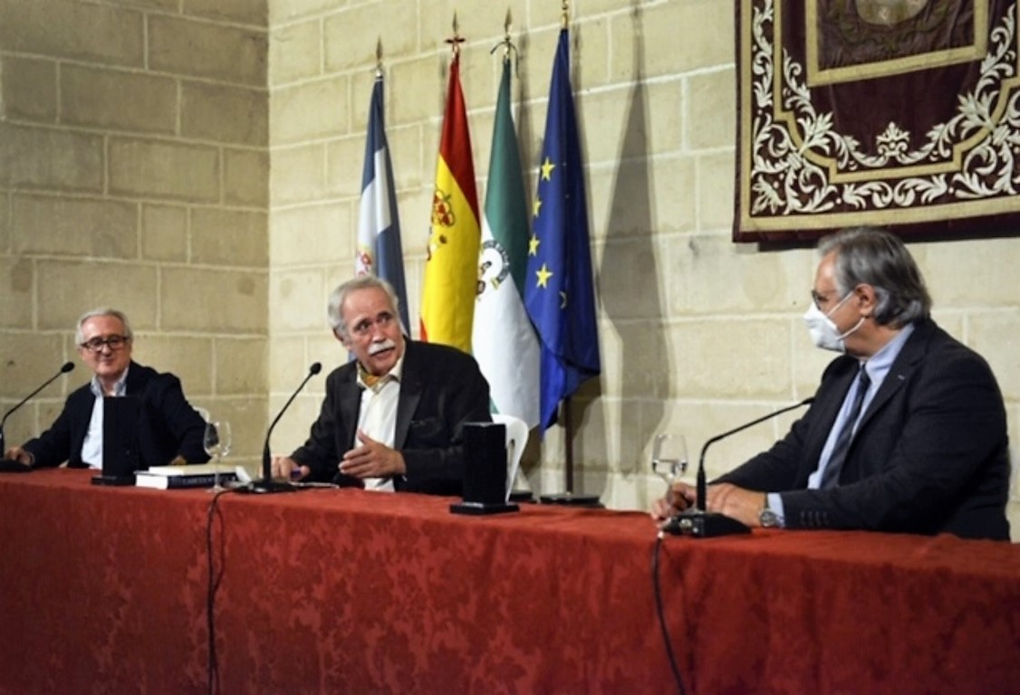Camas presentación novela Núñez Cabeza de Vaca