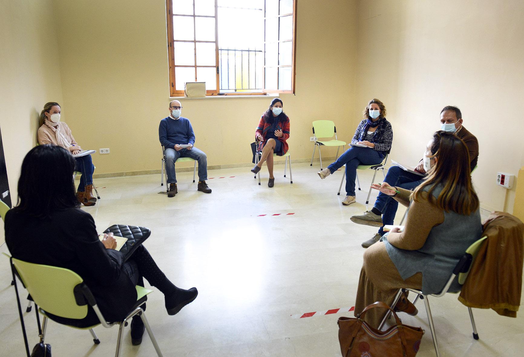 Reunión con el Instituto de la Juventud