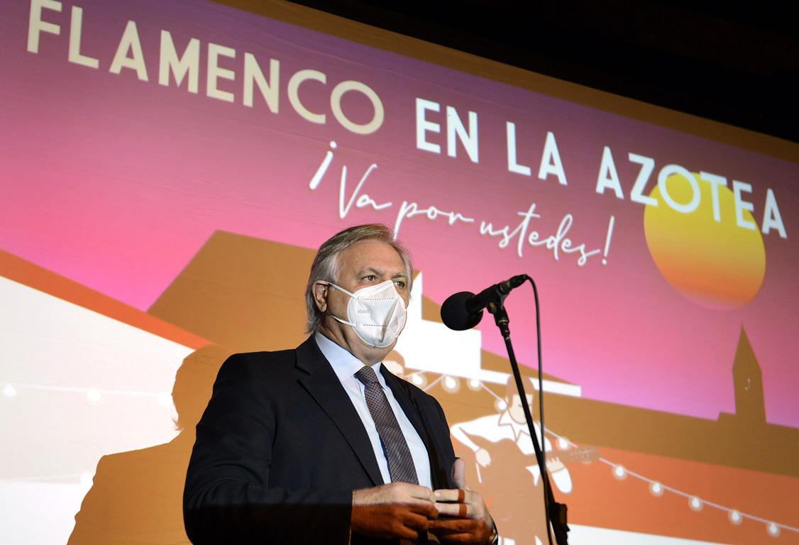 Flamenco en la azotea