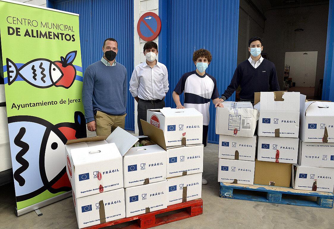 Campaña donación alimentos COVID-19