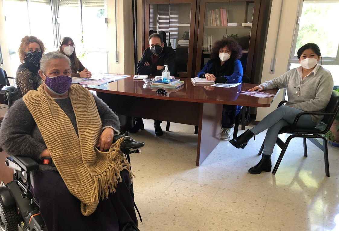 Coordinación discapacidad y violencia género