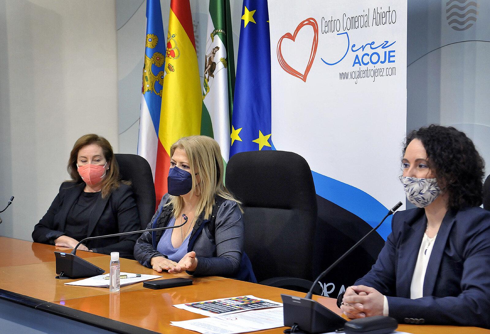 Alcaldesa Rueda de Prensa