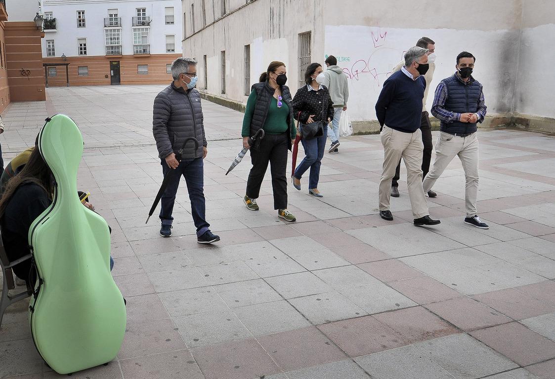 Mejoras plaza Alfonso Sánchez Ferrajón