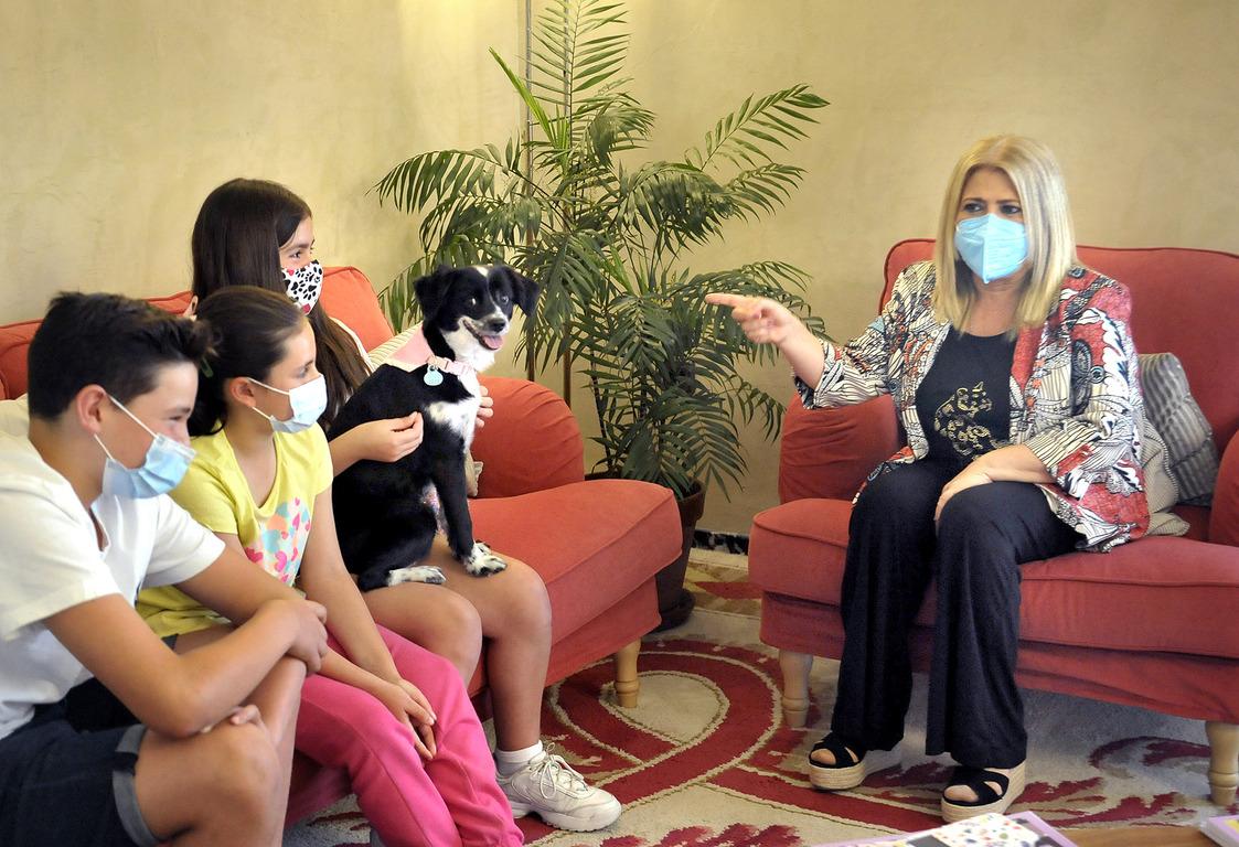 Alma pide un monumento a las mascotas