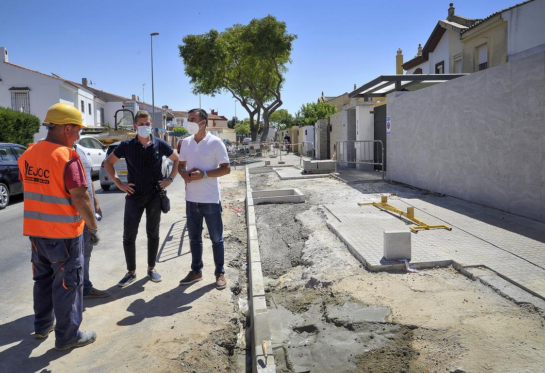 Obras Camino de Albadalejo