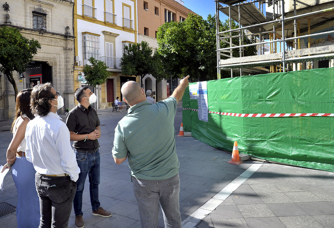 Rehabilitación edificio Anasagasti en calle Larga