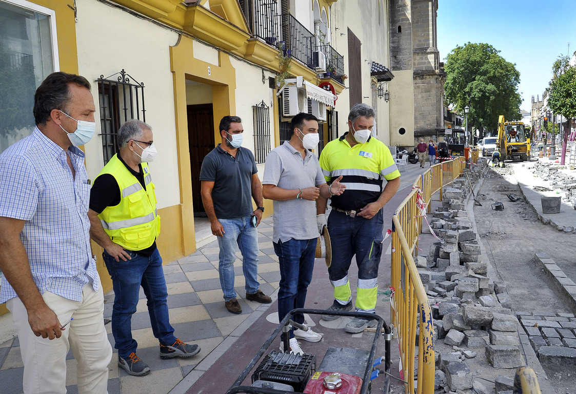 Obras calle Ponce