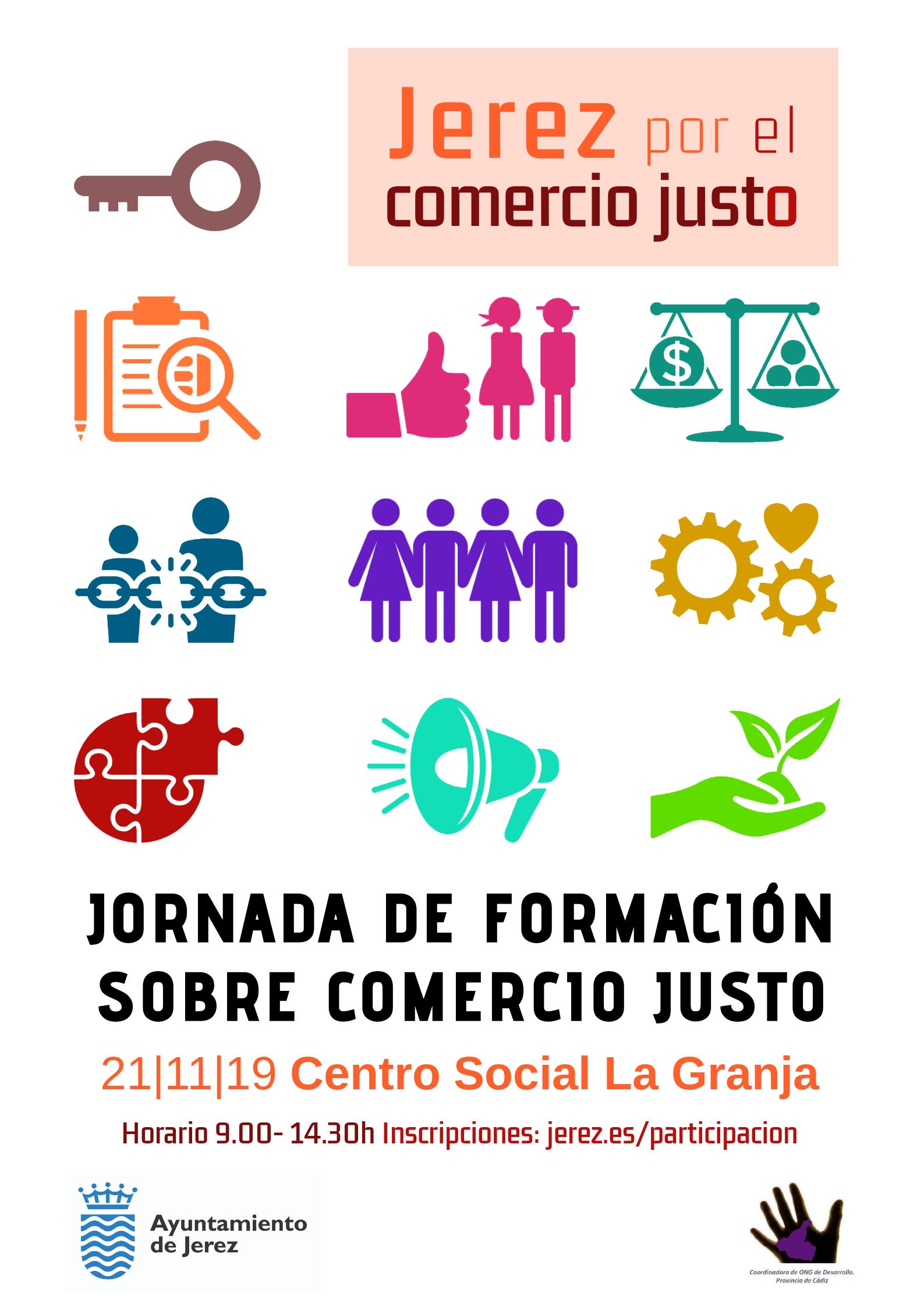 Cartel Jornada Comercio Justo 21 noviembre 2019