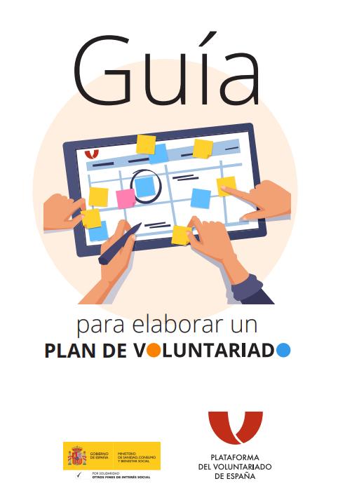 Guía para elaborar un plan de voluntariado de la Plataforma de Voluntariado de España