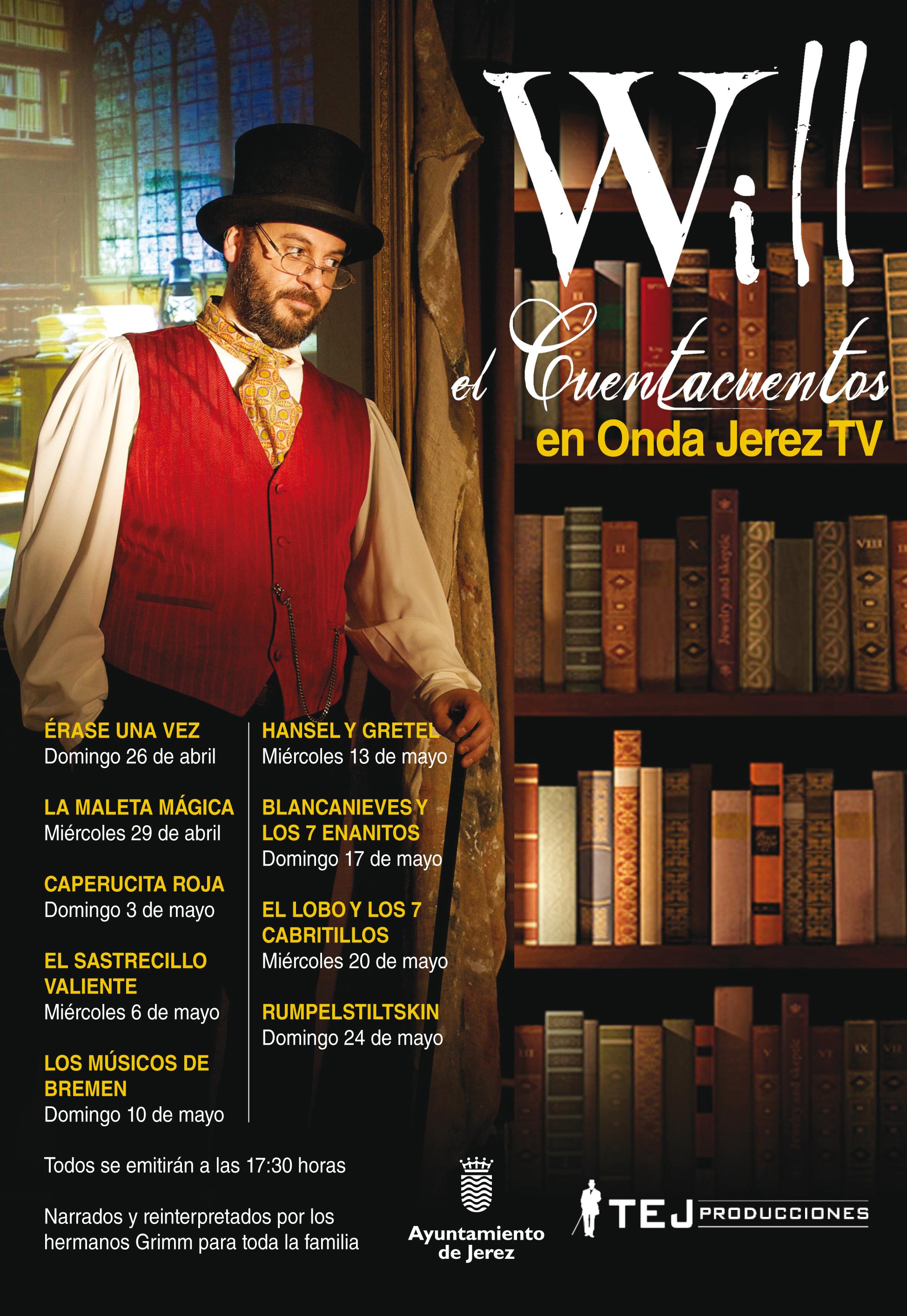 Cuenta cuentos en Onda Jerez TV