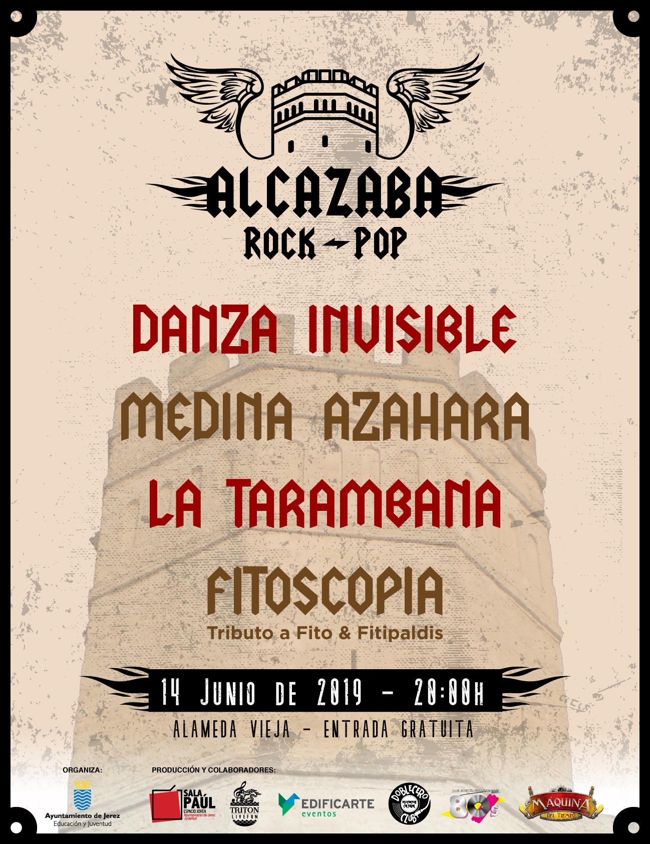 Cartel Acazaba Rock Pop