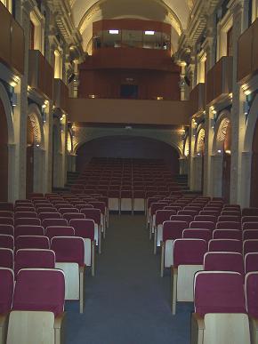 Interior de la Sala Compañía