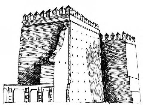 Ilustración de la Torre del Homenaje