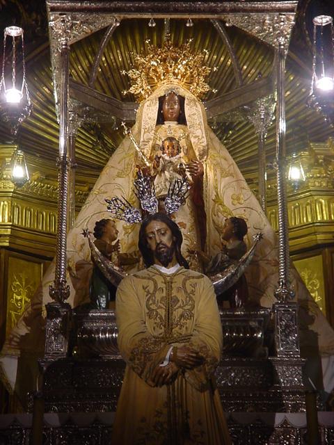 Imagen de Jesús del Consuelo y Virgen de la Merced