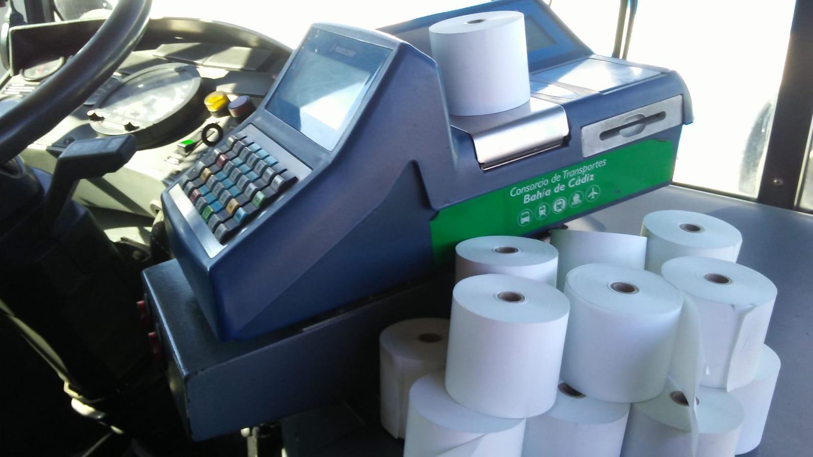 Imagen de rollos térmicos de papel