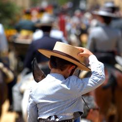 Imagen Caballista Feria