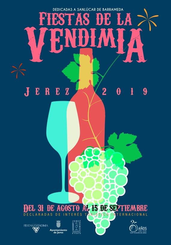 Cartel Fiesta de la Vendimia 2019