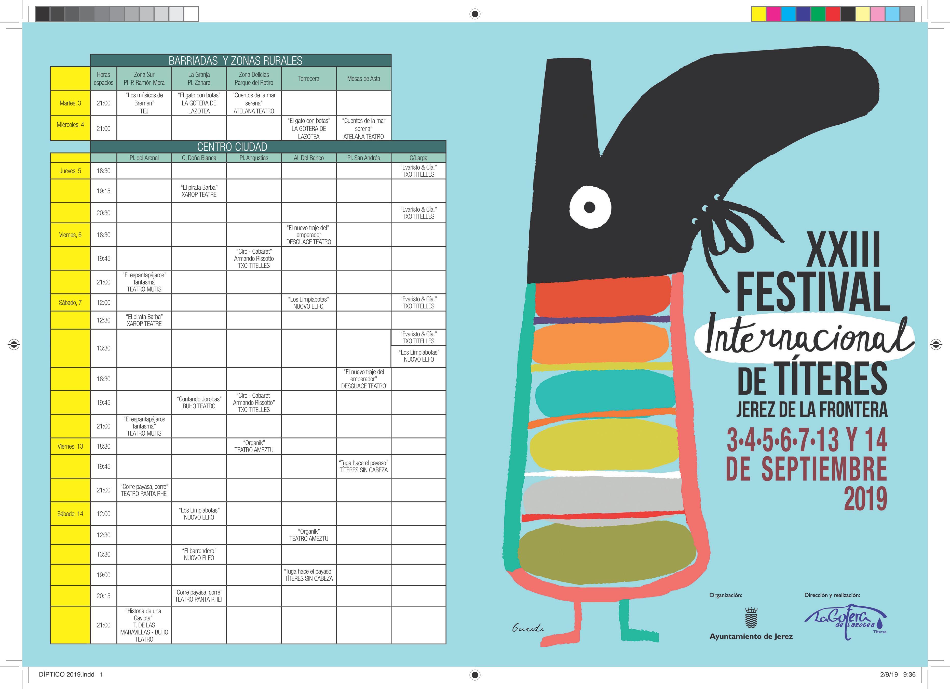 Programa Festival Titeres