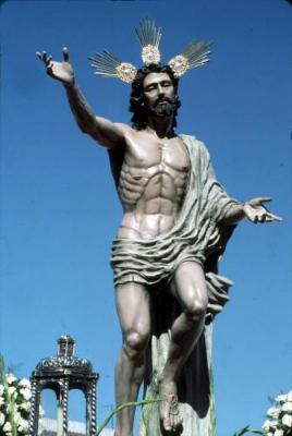 Imagen Nuestro Señor en el Misterio de la Resurrección.