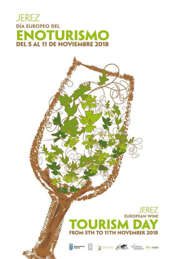 Cartel día Europeo Enoturismo 2018
