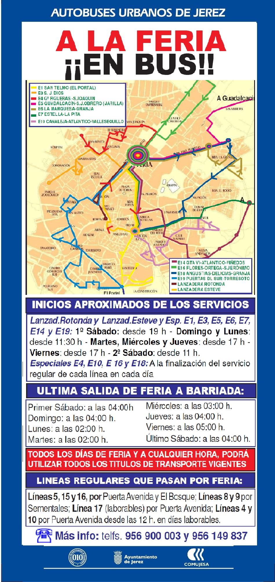 Servicio Especial Feria 2019