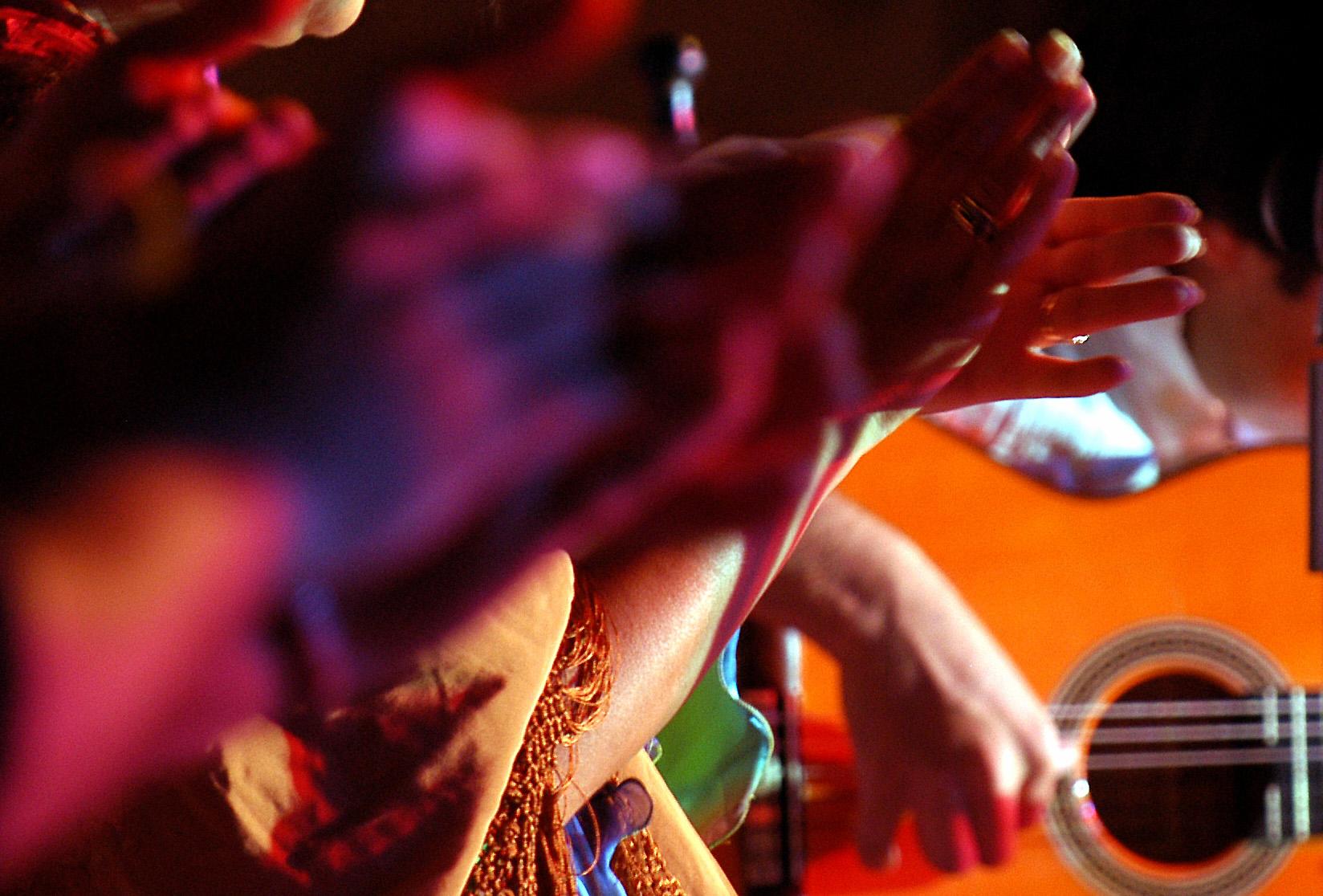 Flamenco en las Fiestas Vendimia de Jerez
