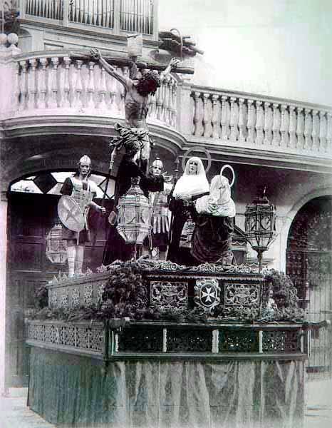 Imagen primer paso del Cristo del Amor